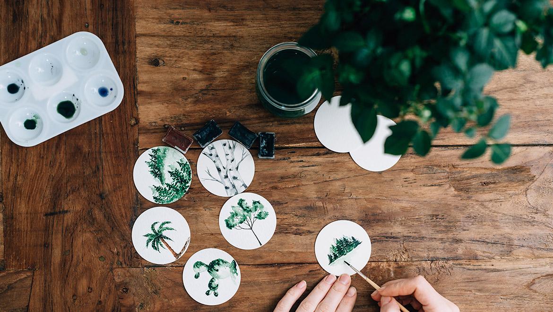 Green Art of Nature
